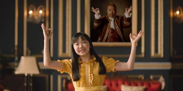 Y!mobileのCMのメインキャラ・芦田愛菜ちゃんも李家の黄色