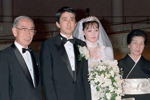 安倍晋三・昭恵夫妻の仲人は福田赳夫