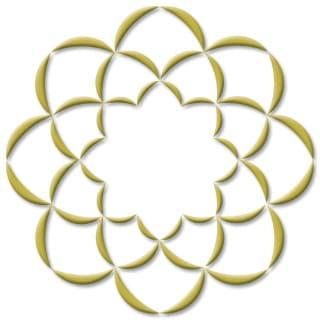 創価学会のシンボル「八葉蓮華」