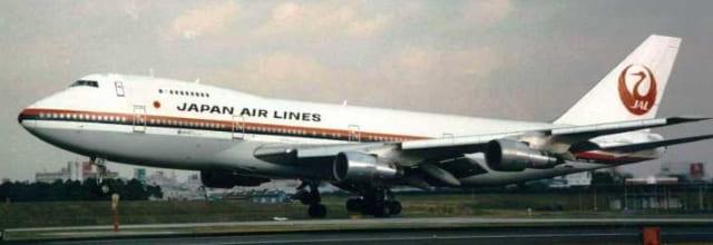 墜落したJAL123便と同型の機体