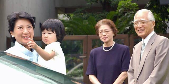 皇后雅子様と両親
