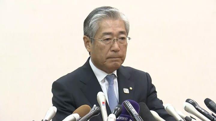 7分で会見を終了したJOC竹田恒和会長